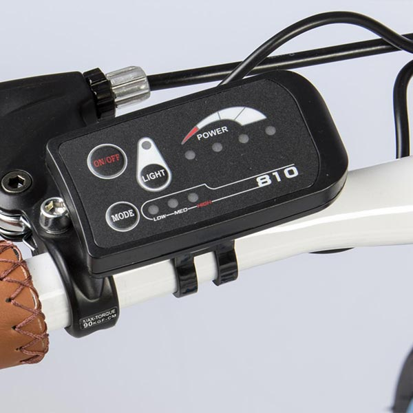 City-bike-elettrica-IFM-rossa-da-uomo-con-batteria-al-litio-3