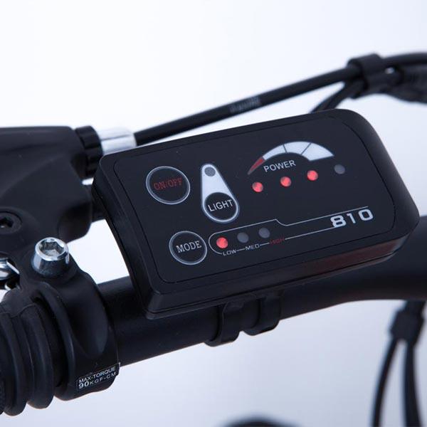 Mountain-bike-elettrica-IFM-blu-e-nera-con-batteria-al-litio-36V-8Ah-3