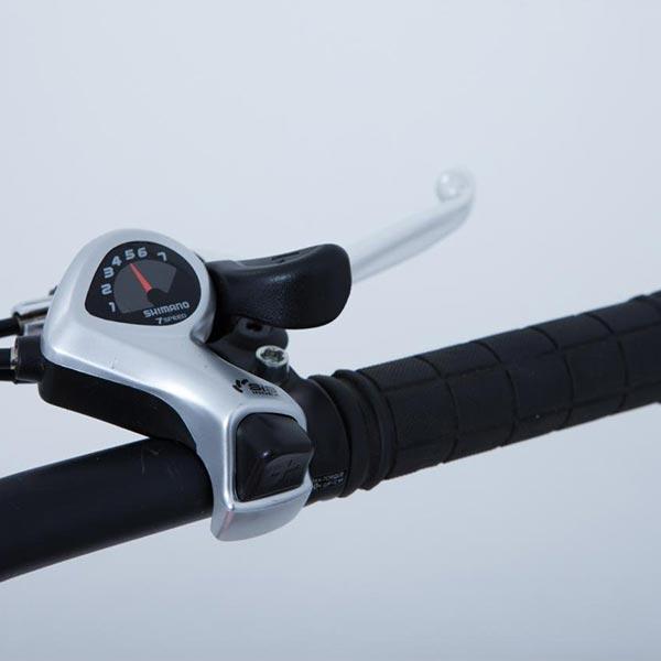 Mountain-bike-elettrica-IFM-verde-e-nera-con-batteria-al-litio-36V-8Ah-2